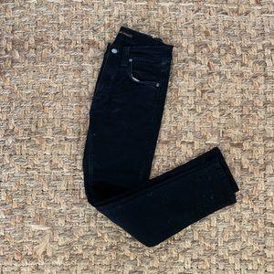 Organic Cotton Black Nudie Jeans